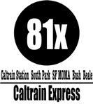 81x Caltrain Express