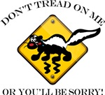 Don't Tread On Me Skunk