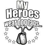 My Heroes wear dog tags 2
