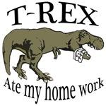 T Rex ate