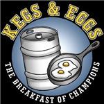Kegs & Eggs (dark shirt)