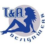 T&A DESIGNWEAR Blue & Grey