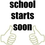 school starts soon