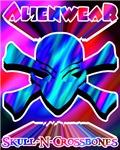 Alien Skull N Crossbones