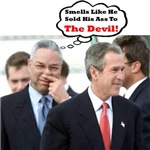 Bush - Smells Like He Sold His Ass To The Devil