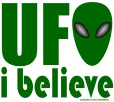 UFO I BELIEVE T-SHIRTS AND GIFTS