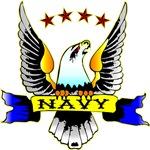 Navy Old School Eagle Tattoo