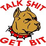 Pitbull Talk Shit Get Bit