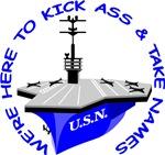 USN Kick Ass Take Names