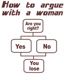 How To Argue With A Woman