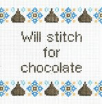 Will Stitch for Chocolate