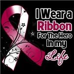 Ribbon Hero in My Life Head Neck Cancer Shirts