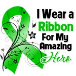 I Wear a Green Ribbon Amazing Hero Shirts