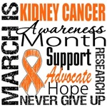 Kidney Cancer Awareness Month Shirts