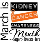 Kidney Cancer Awareness March Month Shirts