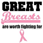 Great Breasts Are Worth Fighting For T-Shirts (V2)