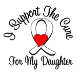 Lung Cancer Cure (Daughter) T-Shirts & Gifts