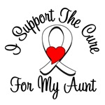 Lung Cancer Cure (Aunt) T-Shirts & Gifts