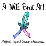 Thyroid Cancer I Will Beat It T-Shirts & Gifts