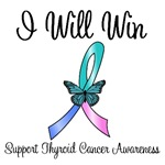 Thyroid Cancer I Will Win T-Shirts & Gifts