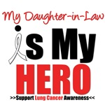 Lung Cancer Hero (Daughter-in-Law) Shirts & Gifts