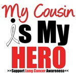Lung Cancer Hero (Cousin) Shirts & Gifts