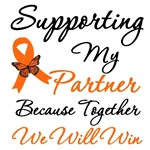 Orange Ribbon Butterfly Support Shirts