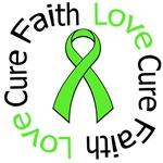 NON-HODGKIN'S FAITH LOVE CURE Shirts & Gifts