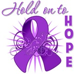 Hold on to Hope Pancreatic Cancer Shirts and Gifts