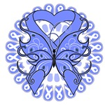 Esophageal Cancer Butterfly Shirts