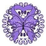 Tattoo Butterfly Hodgkin's Disease Shirts
