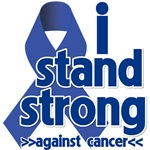 I Stand Strong Against Colon Cancer Shirts