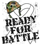 Ready For Battle Bone Cancer Shirts