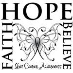 Faith Hope Believe Skin Cancer Shirts