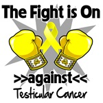 The Fight is On Against Testicular Cancer Shirts,
