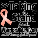 Taking a Stand Uterine Cancer Shirts