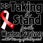 Taking a Stand Oral Cancer Shirts