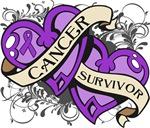 Leiomyosarcoma Survivor Double Hearts Shirts
