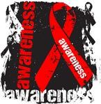 Heart Disease Awareness Grunge Shirts
