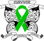 Bile Duct Cancer Survivor Butterfly Strength Shirt