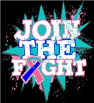 Join The Fight Thyroid Cancer Shirts