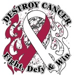 Destroy Throat Cancer Shirts and Gear