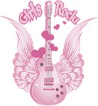 Girly Winged Guitar