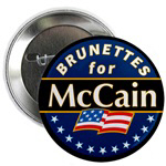 Brunettes for McCain