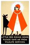 Little Red Riding Hood, Please Save Me From Wildl