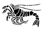 Black Lobster Design
