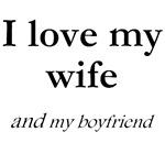 Wife/my boyfriend