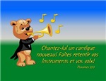 Psalm 33:3 Musical Bear foreign
