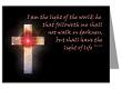 John 8:12 Celestial Cross