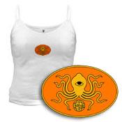InJewCon Orange Octopus